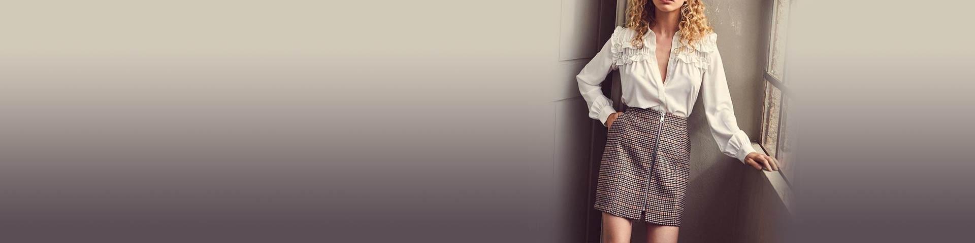 Shorts, pantalones cortos y faldas - Mujer – Online Closer